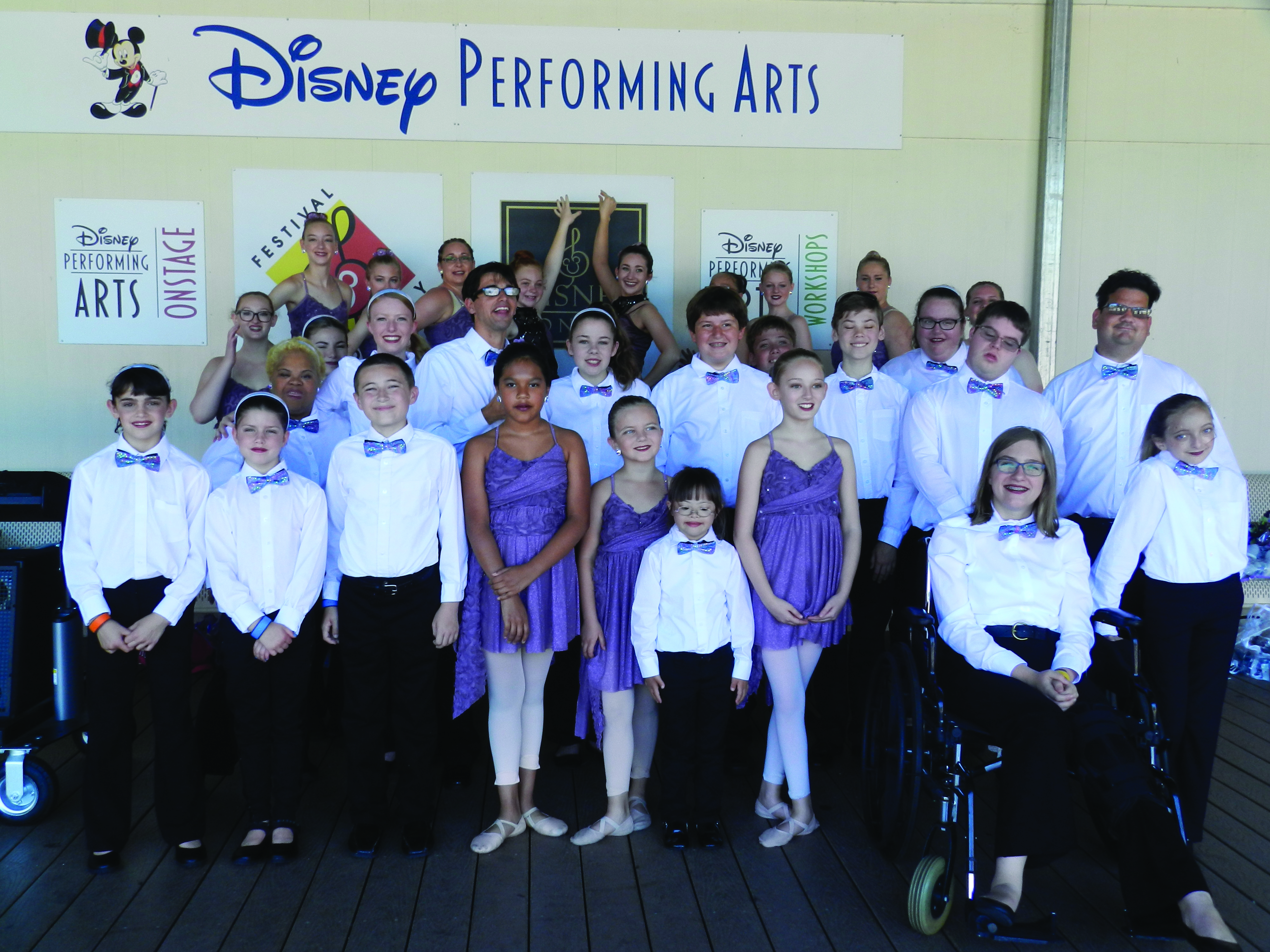 Holly Springs Cultural Arts Groups Perform at Disney World!