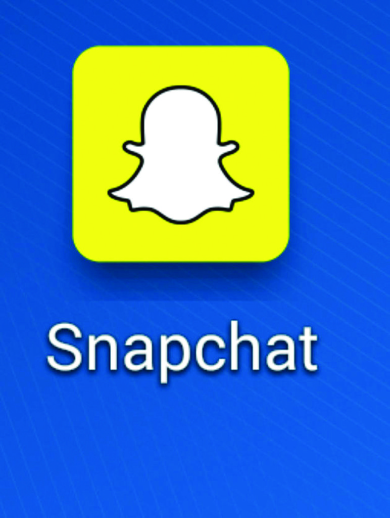 Undated file photo of the logo for the SnapChat App. Explicit images taken with the photo sharing app SnapChat have reportedly been intercepted via a third party app and leaked online.