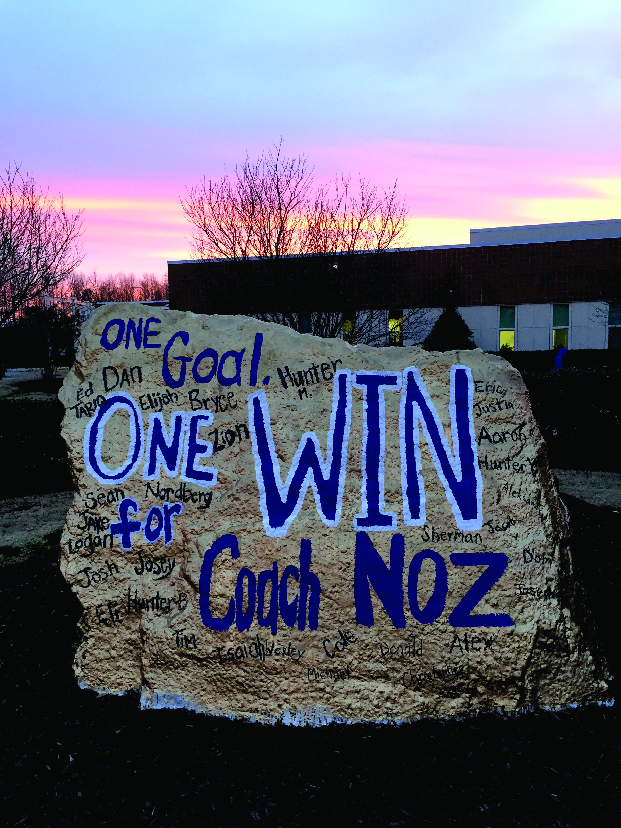One Goal, One Win By Lindsey Fano