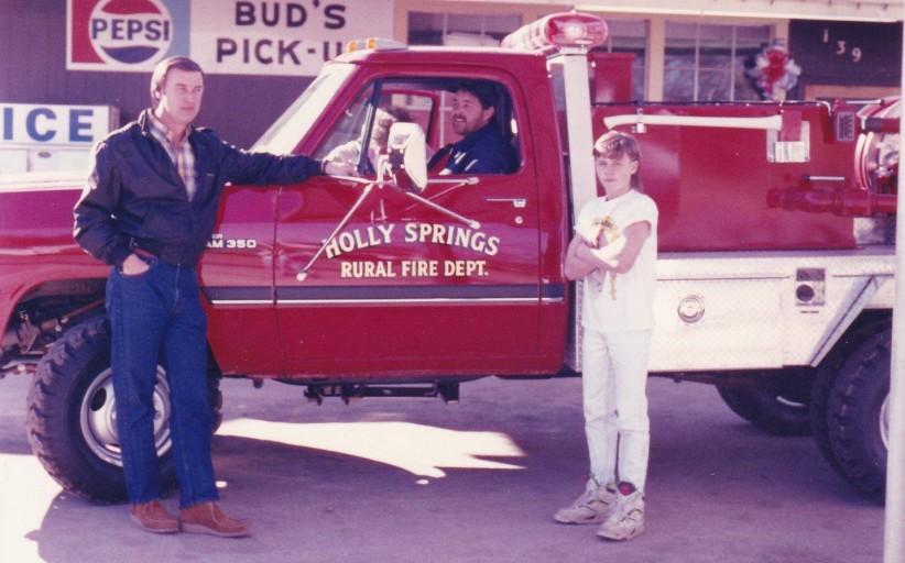 The History of the Holly Springs  Volunteer Fire  Department      By Barb Koblich