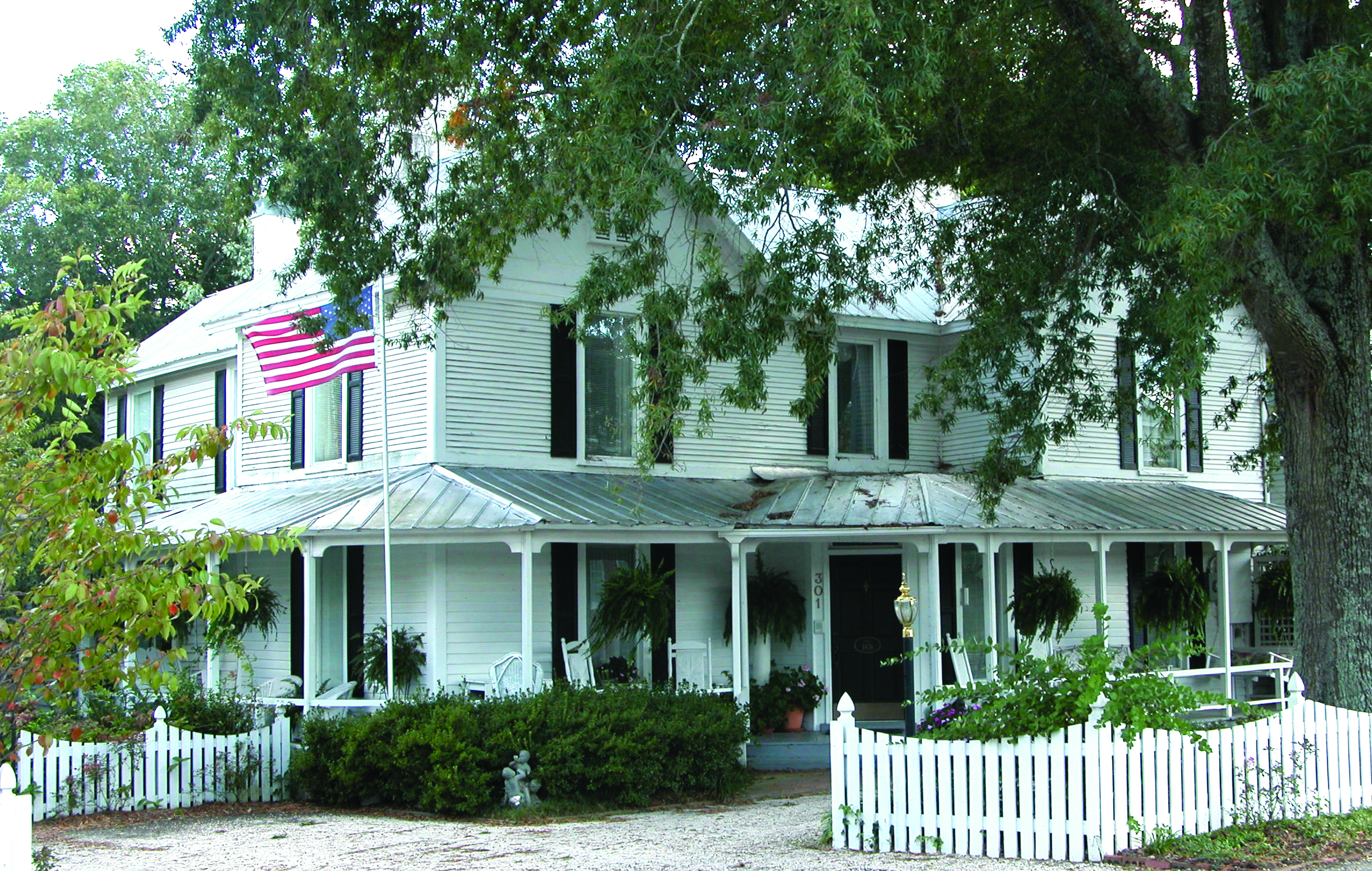 These Old Houses Part 1     By Barbara Koblich, Town of Holly Springs Historian