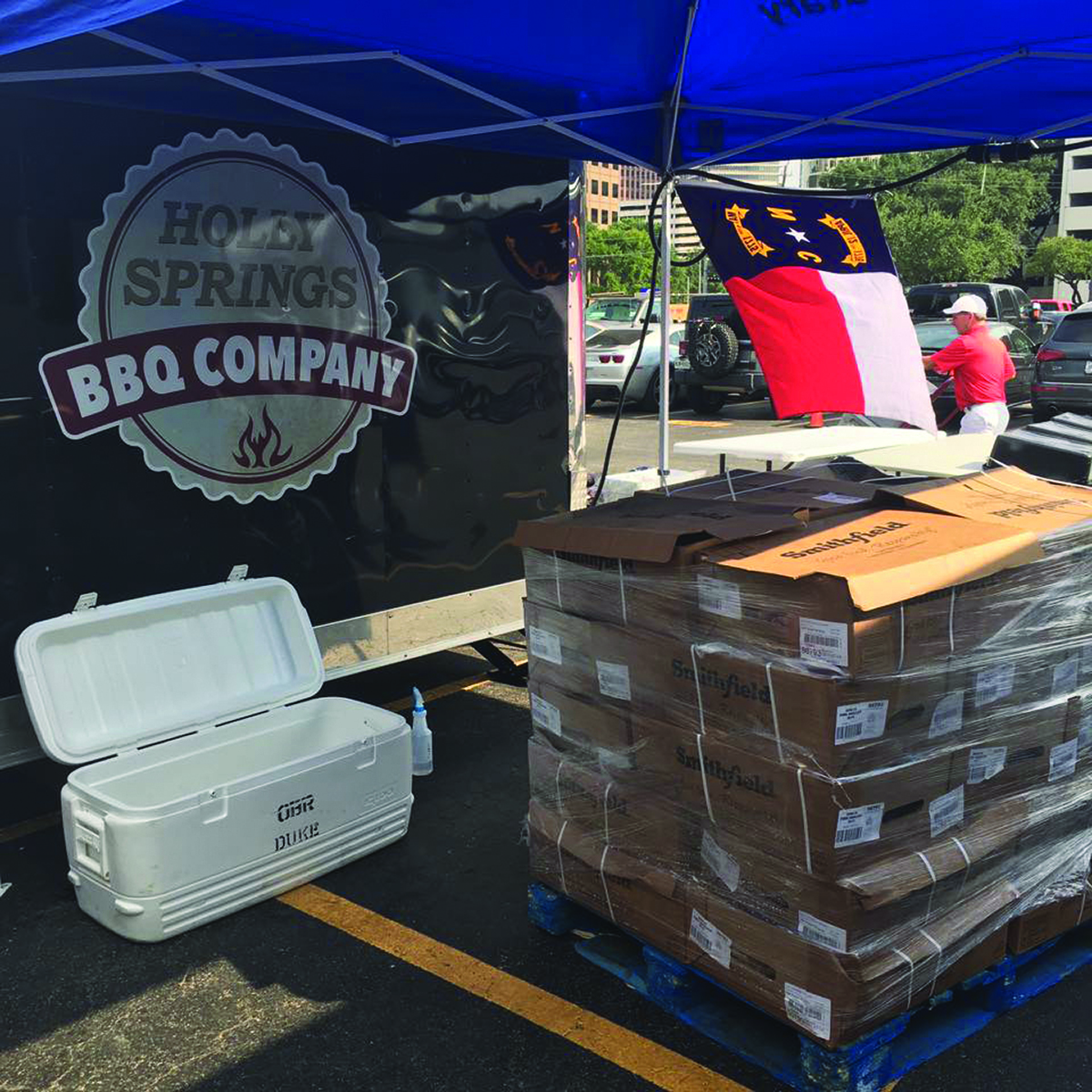 Operation Barbecue Relief  By Stacy Kivett